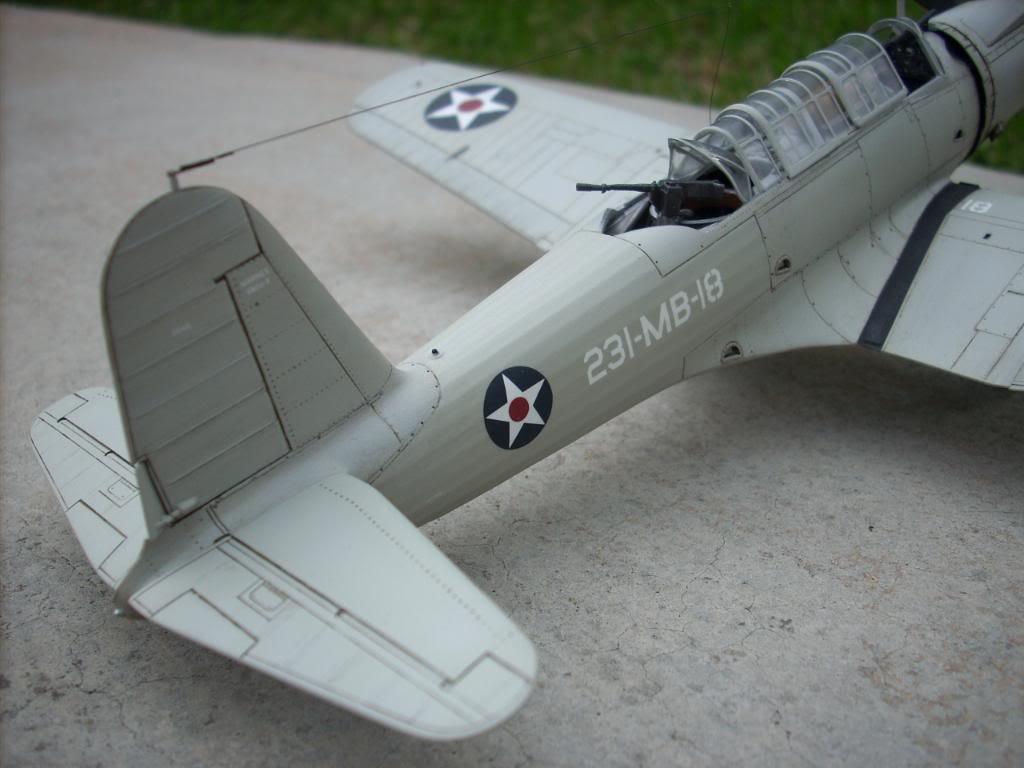 SB2U-3 vindicator, Pearl Harbor  1/48 Imagen085
