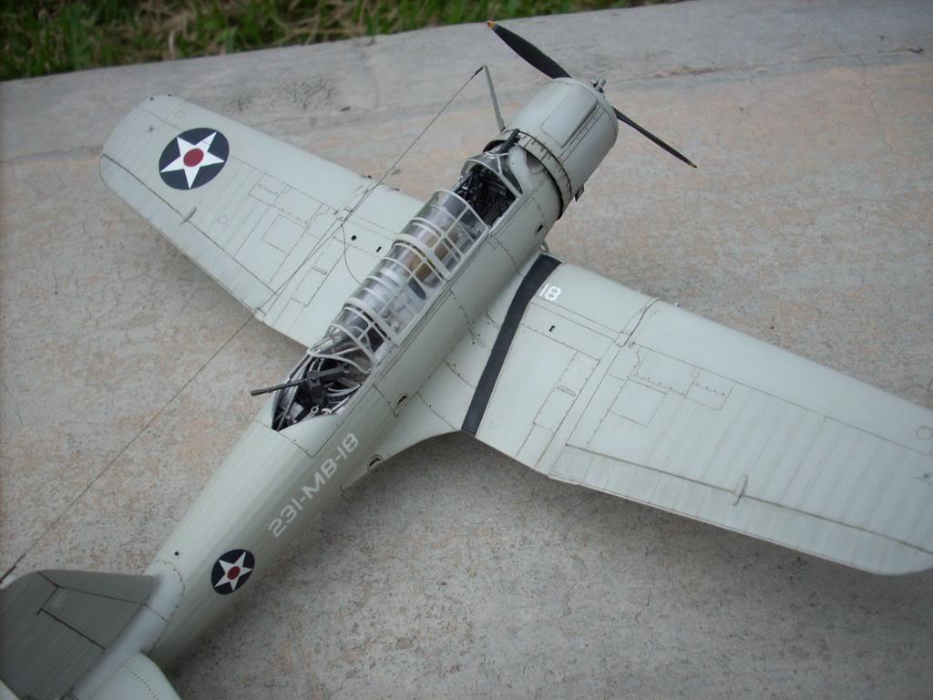 SB2U-3 vindicator, Pearl Harbor  1/48 Imagen087