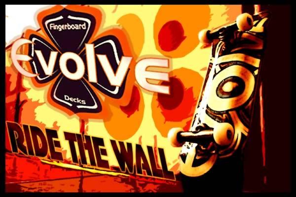 Evolve - Ride The Wall - Vencedor Gui Wow FLYER