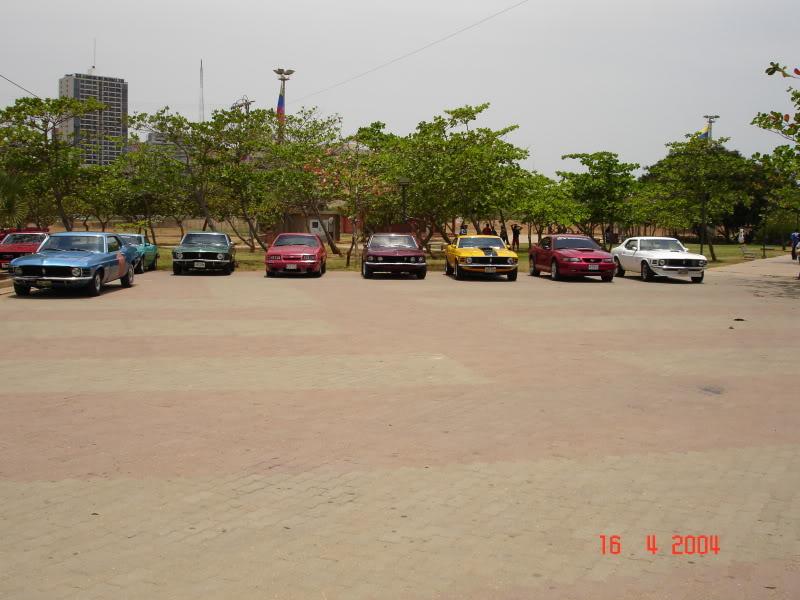 Celebración del 40ª Aniversario del Mustang – Abril de 2004 PaseoDeLagoII006