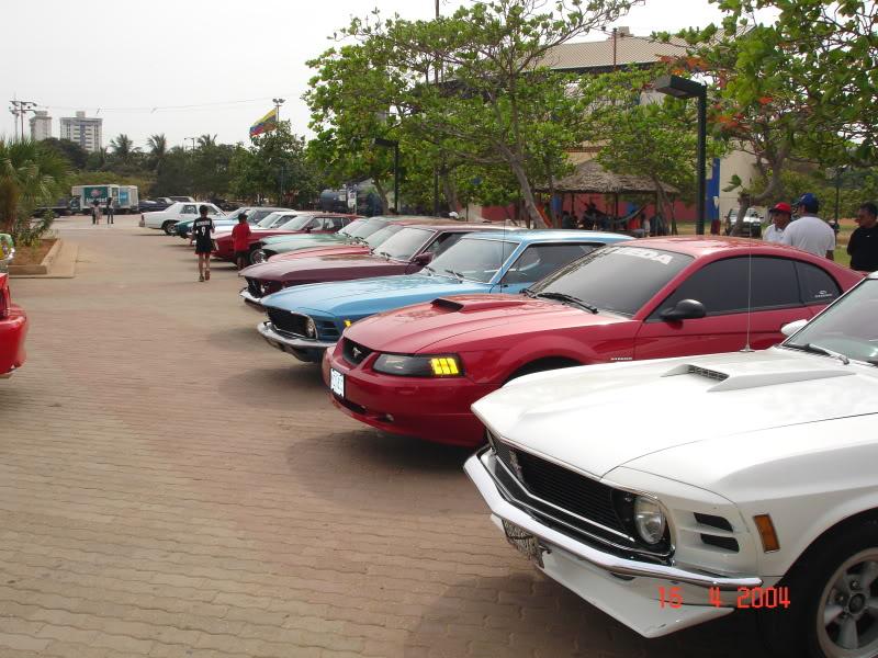 Celebración del 40ª Aniversario del Mustang – Abril de 2004 PaseoDeLagoII082