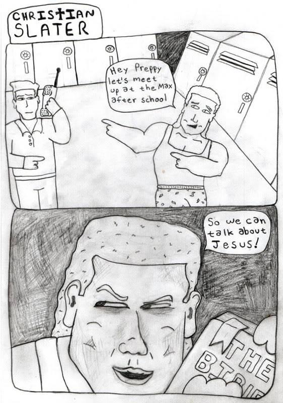 Random funny pictures! Christianslater