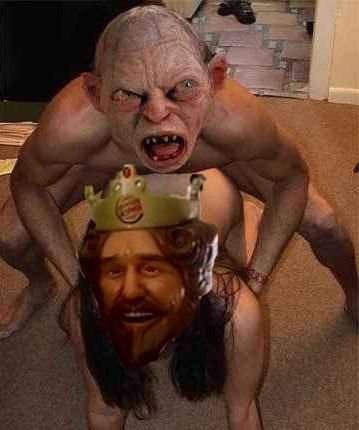 Random funny pictures! Gollumbkporn