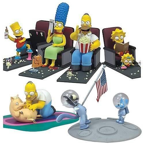 Pliušiniai žaislai Simpsonsaction