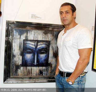 Biograia de SALMAN KHAN Salman-painting