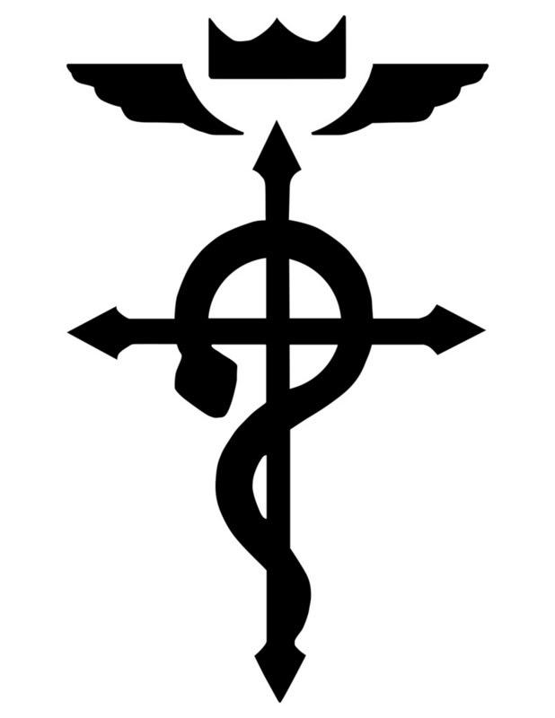 full metal alchemist anime Edsymbol