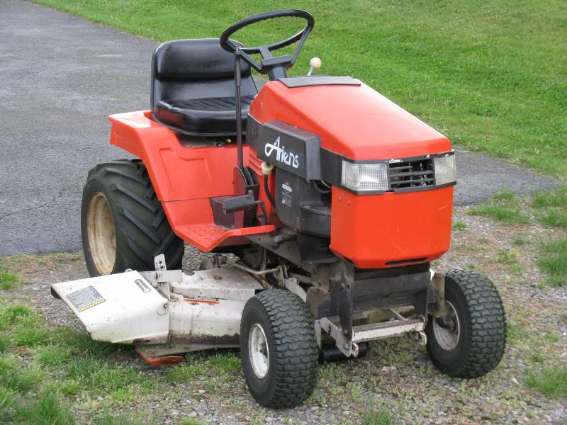 Got another Bundled deal with an older Ariens Lawn Tractor. TractorFront