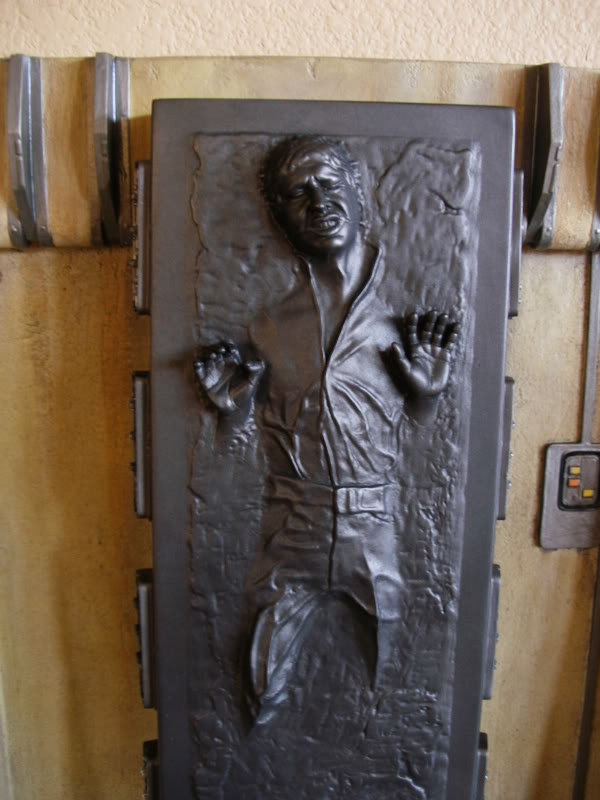 "Han Solo in Carbonite Sixth Scale Environment - 12"" HanSoloSS16001"