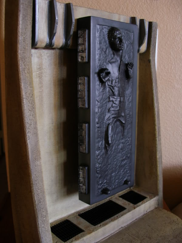 "Han Solo in Carbonite Sixth Scale Environment - 12"" HanSoloSS16005"