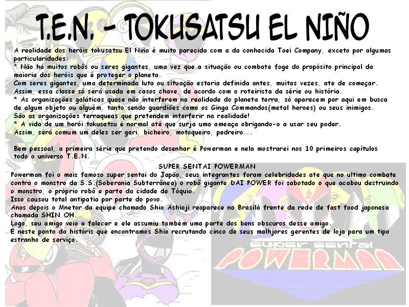 SUPER SENTAI POWERMAN!! 01-2