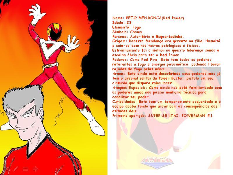 SUPER SENTAI POWERMAN!! 08-2