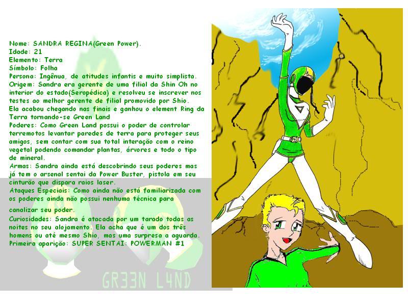 SUPER SENTAI POWERMAN!! 11-2