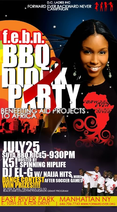 JULY25.ALL NATIONS SOCCER TOURNAMENT (N.Y.) $500 CASH Bbqparty