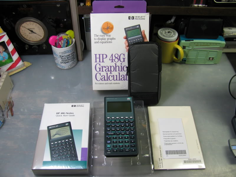 F/S NOS/NIB HP 48G RPN GRAPHIC CALCULATOR PRICE LOWERED IMG_2116