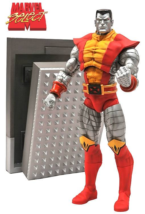 Marvel Selects - Diamond Toys Action-Figure-Marvel-Select-Colossus-01