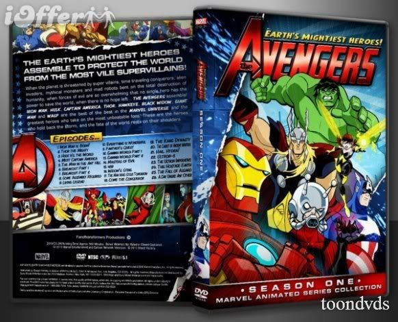 Avengers: Earth's Mightiest Heroes Avengers-earth-s-mightiest-heroes-season-1-on-dvd-95157