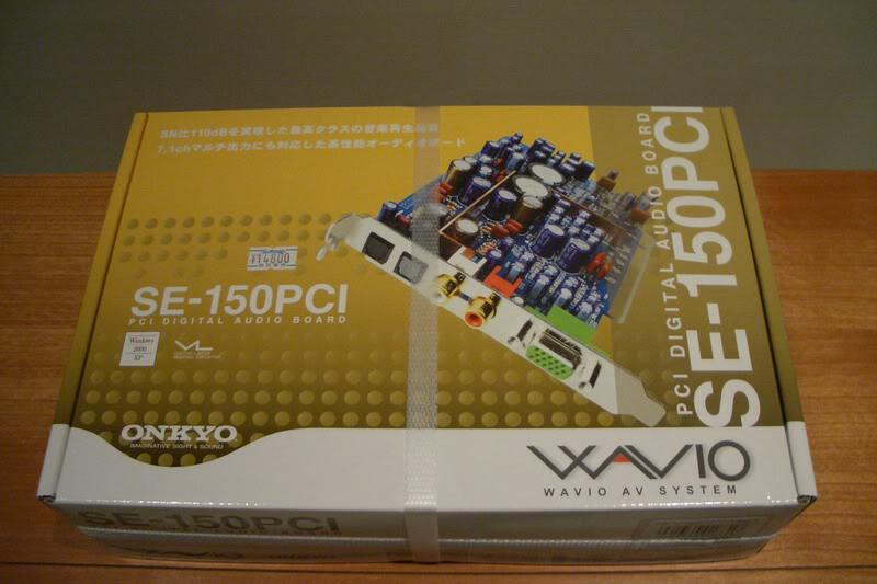 Onkyo SE-150PCI CIMG0348