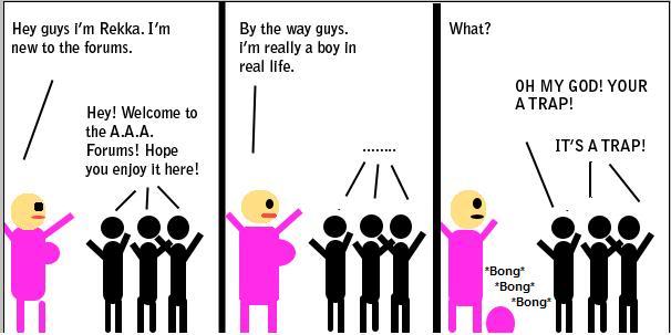 Comic #3: Rekka's Welcoming Rekkawelcome