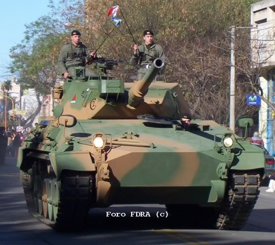 Fuerzas Armadas TAM-Frontal