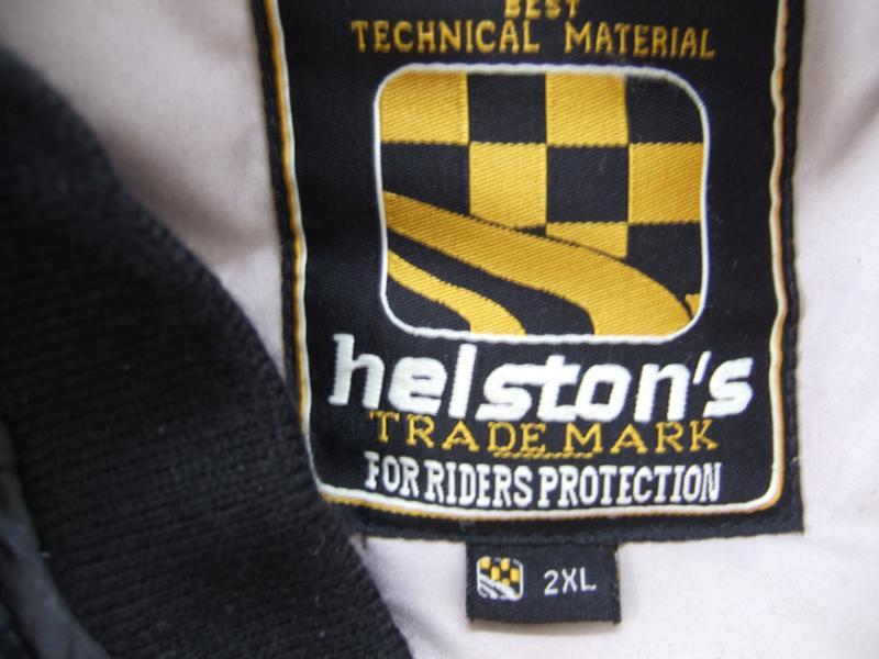 VENDU...BLOUSON CUIR HELSTON'S...taille XXL...bonne affaire..!!  005-36