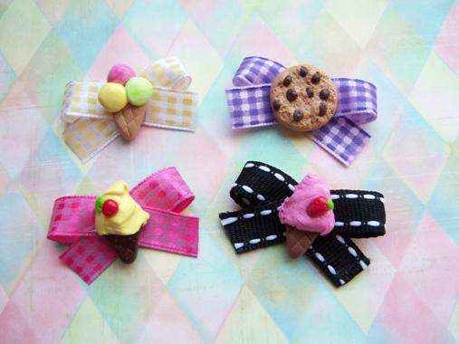 Petites sucreries à porter pour vos Blythes! Barettes