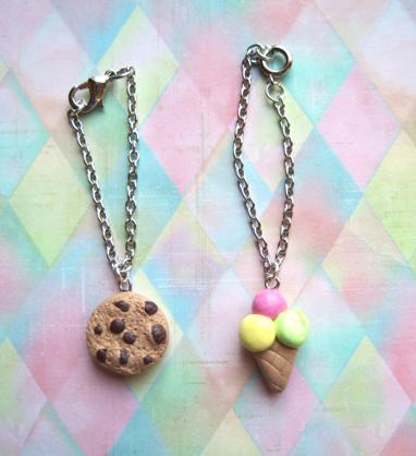 Petites sucreries à porter pour vos Blythes! Colliers