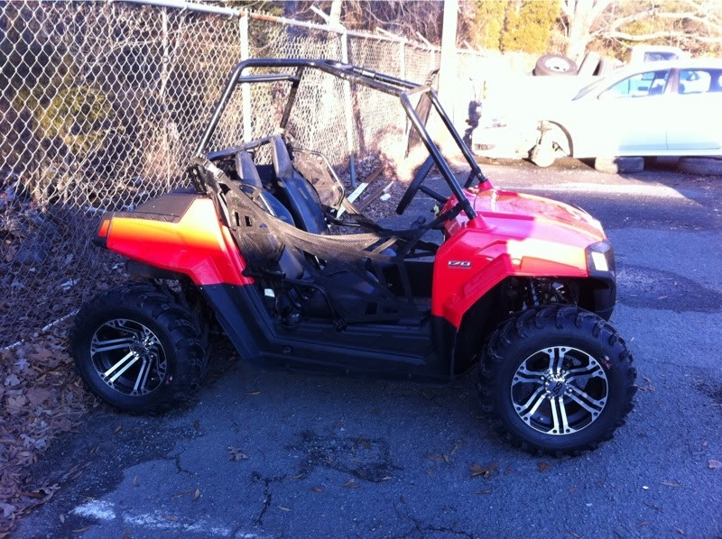 Rzr 170 and Polaris 200cc atv for sale: