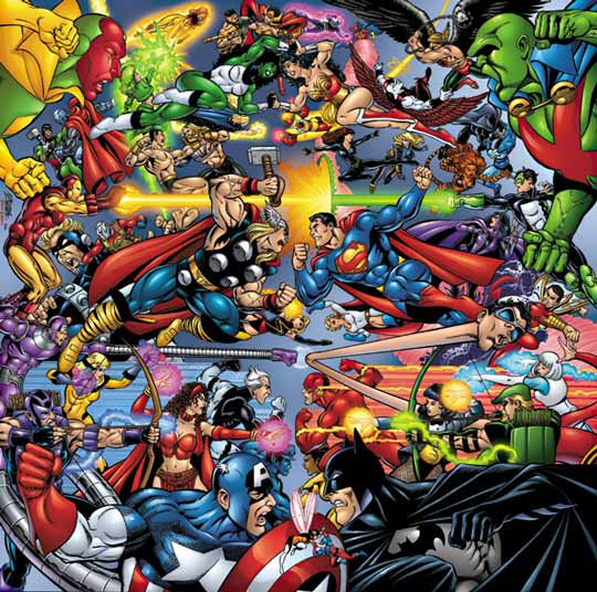Comic Book Battles