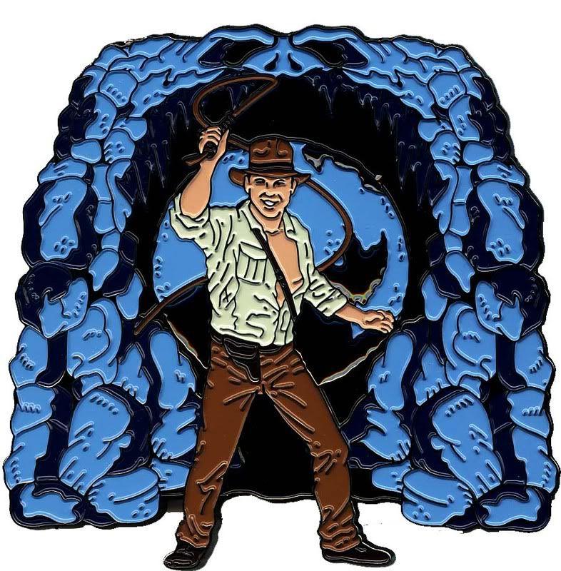 CA54 Nintendo Wii Pin & Indiana Jones Set Indiana002