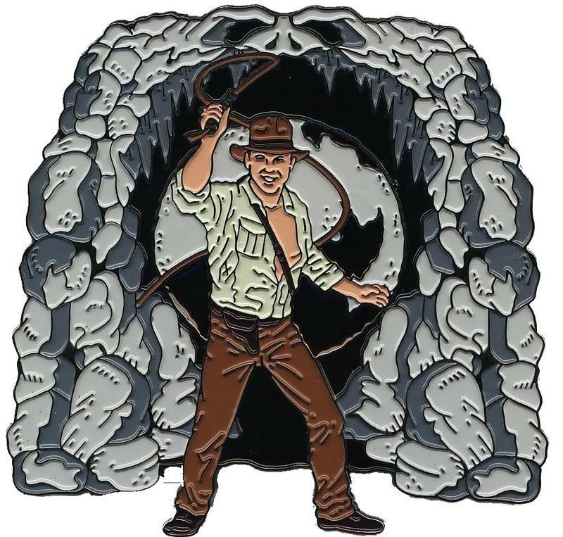 CA54 Nintendo Wii Pin & Indiana Jones Set Indiana003