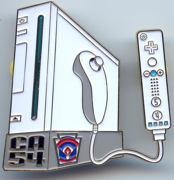 CA54 Nintendo Wii Pin & Indiana Jones Set Wii