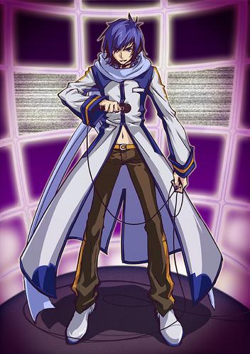 Kaito has a manly doppelganger Kaito