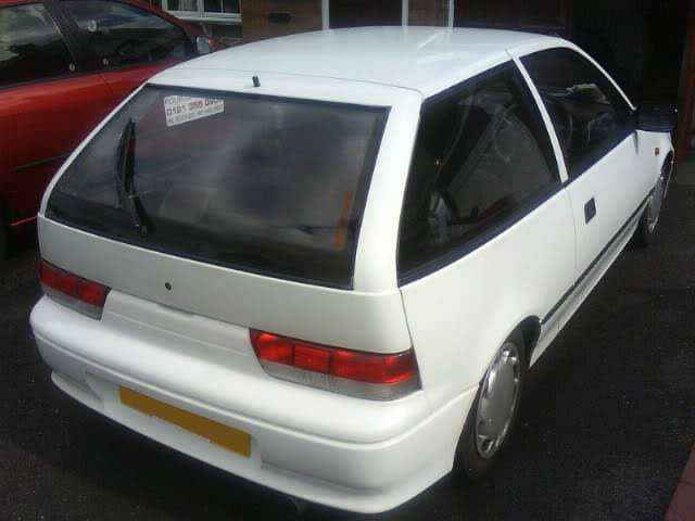 1997 1.3 8v white 3dr swift DSC00454