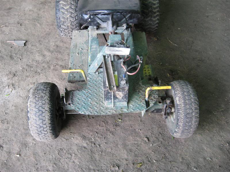 First fast mower built, rear engine Hahn. Picture108Medium