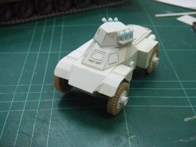 Scratchbuild project: Ferret Scout Car a.k.a Harimau 2000 DSCF0393