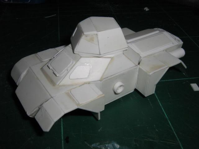 Scratchbuild project: Ferret Scout Car a.k.a Harimau 2000 FerretProg5015