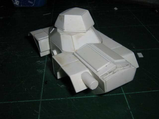 Scratchbuild project: Ferret Scout Car a.k.a Harimau 2000 FerretProg5016