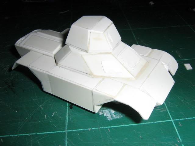 Scratchbuild project: Ferret Scout Car a.k.a Harimau 2000 FerretProg5018