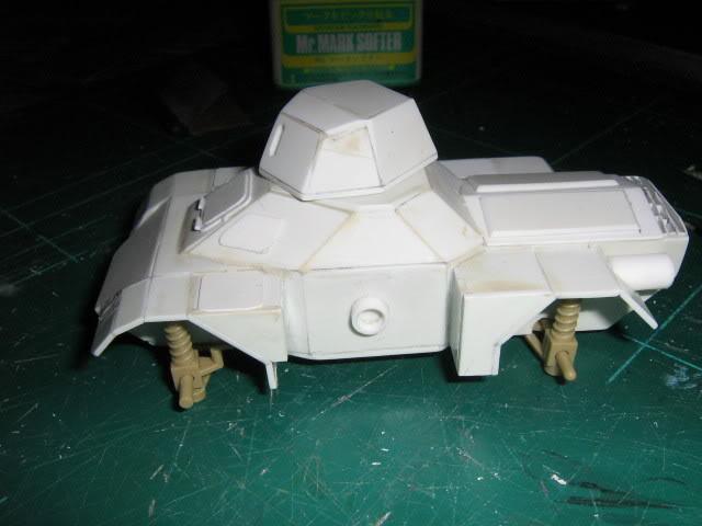 Scratchbuild project: Ferret Scout Car a.k.a Harimau 2000 FerretProg5028