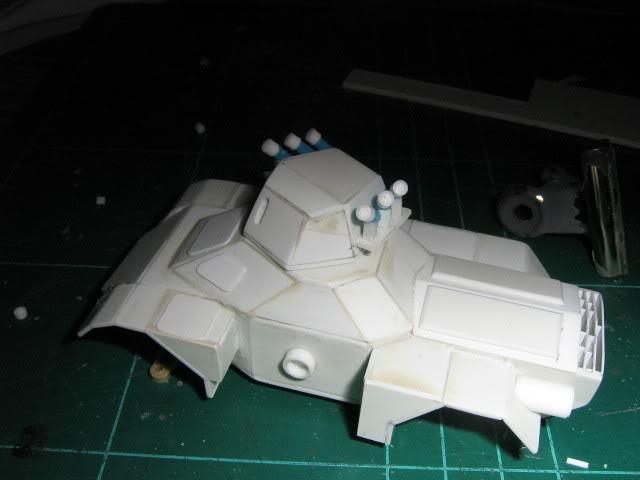 Scratchbuild project: Ferret Scout Car a.k.a Harimau 2000 FerretProg6003