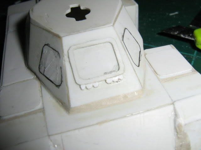 Scratchbuild project: Ferret Scout Car a.k.a Harimau 2000 FerretProg7003