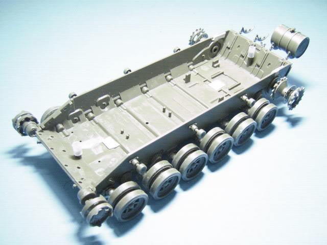 """1/35 projek kedai potong: T-72 kepada PT-91M """"Pendekar"""" PTProg4020"""