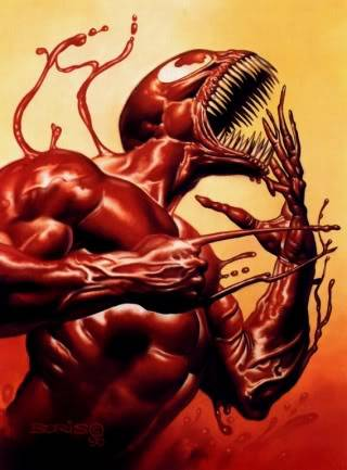 The symbiote Carnage A