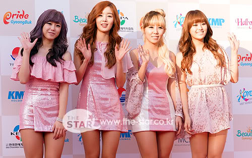 SECRET en la alfombra roja del Dream Concert 2011 2011100301007_0
