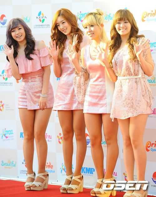 SECRET en la alfombra roja del Dream Concert 2011 201110031645778022_1