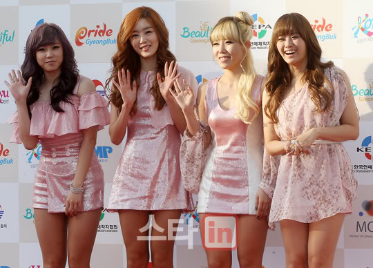 SECRET en la alfombra roja del Dream Concert 2011 PP11100300018