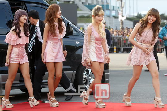 SECRET en la alfombra roja del Dream Concert 2011 PP11100300019