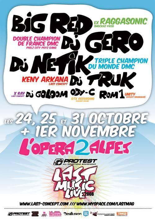 24 Oct - 1er Nov / Protest LAST Music Live @ LES 2 ALPES Affiche_2alpes