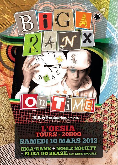 BIGA RANX @ OESIA TOURS 10/03/12 Flyer_biga_tours