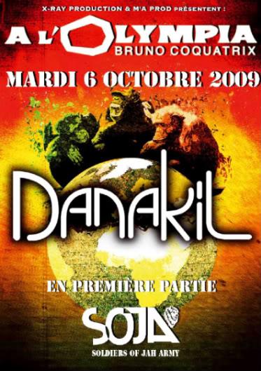 DANAKIL + SOJA à l'OLYMPIA le 6 octobre 2009 Fr-00243708_recto_danak_olympia_WEB